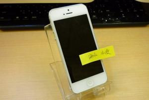 海水で水没したiPhone 5の修理が完了しました。クイック名古屋店