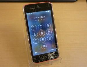 バキッと割れてもカラフルなiPhone 5C ガラス交換しました~♪アイフォン修理のクイック名古屋