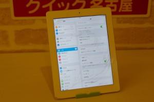 iPad2のガラス交換に中区よりご来店いただきました~♪アイパッド修理もクイック名古屋