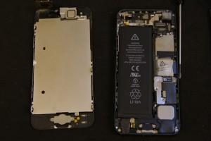 iPhone5のスリープボタンがリコール対象外になったので昭和区より修理に御来店!アイフォン修理のクイック名古屋