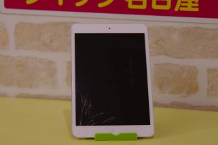 iPad mini 2のガラス割れ修理に名東区より御来店されました~♪アイパッド修理もクイック名古屋