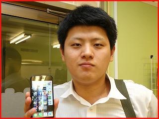 ☆iPhone8の液晶交換修理に半田市よりご来店!アイフォン修理のクイック名古屋