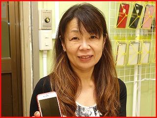 ☆落としてガラスの割れたiPhone6の修理に岩倉市よりご来店!アイフォン修理のクイック名古屋