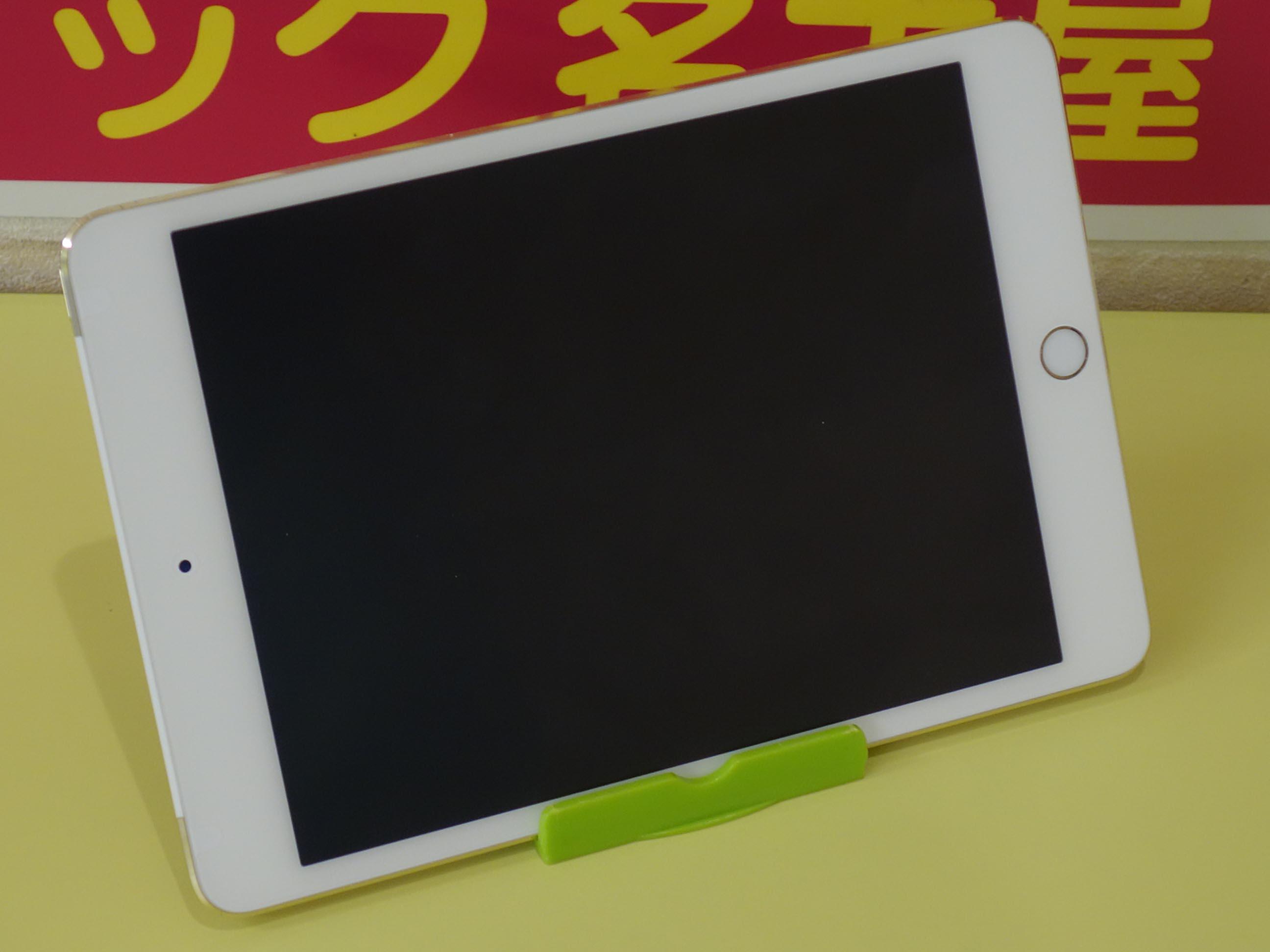 iPad mini4の水没オーバーホールと液晶交換修理に守山区よりご来店!アイパッド修理のクイック名古屋