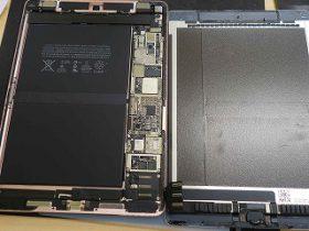 名古屋市 お風呂に浸かったiPad Pro9.7の水没修理 アイパッド修理のクイック名古屋