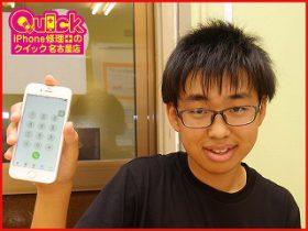 ☆名古屋市 iPhone8 ガラス割れ修理 アイフォン修理のクイック名古屋