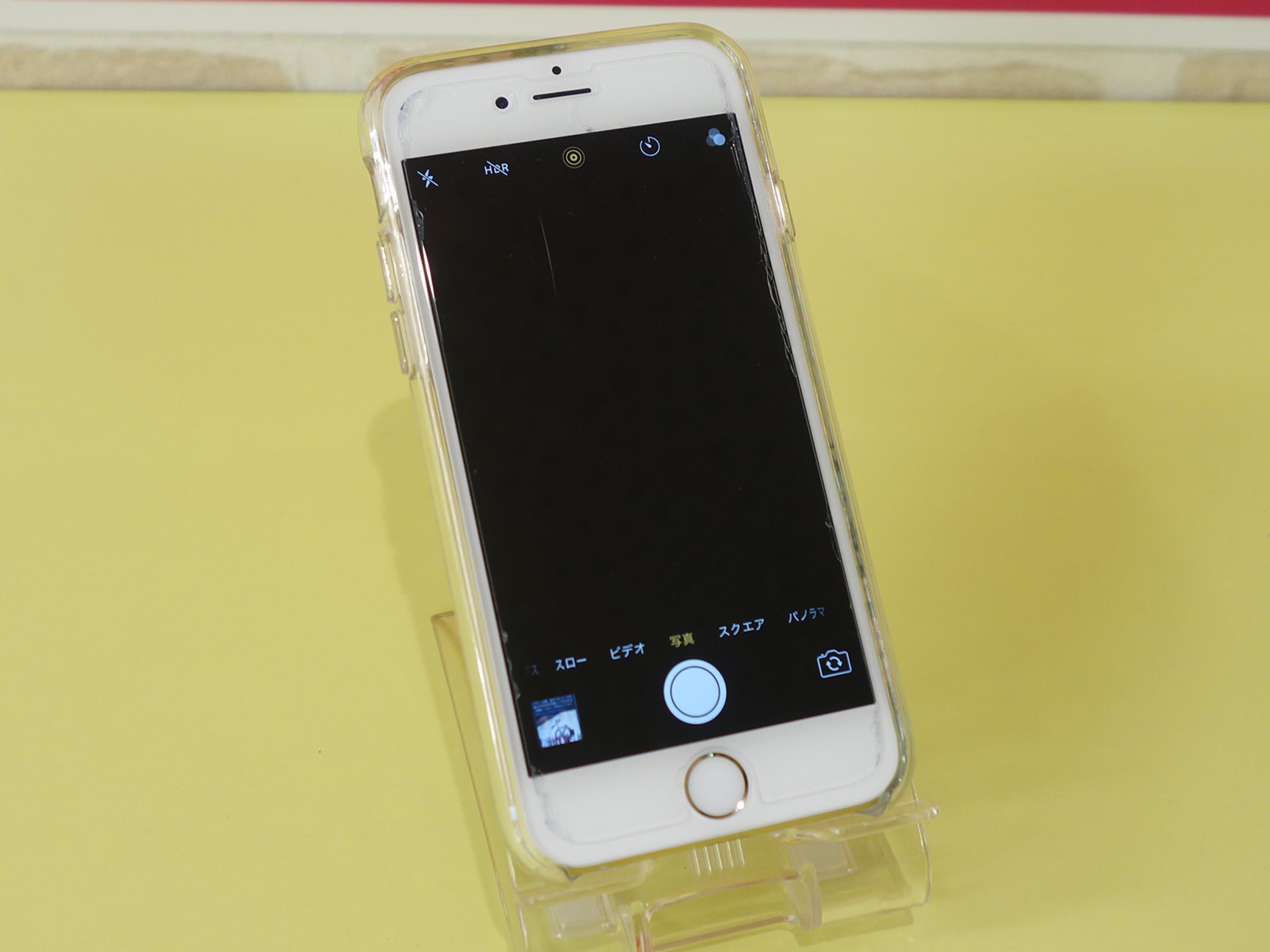 桑名市 iPhone6S アウトカメラが真っ暗で使えない アイフォン修理のクイック名古屋