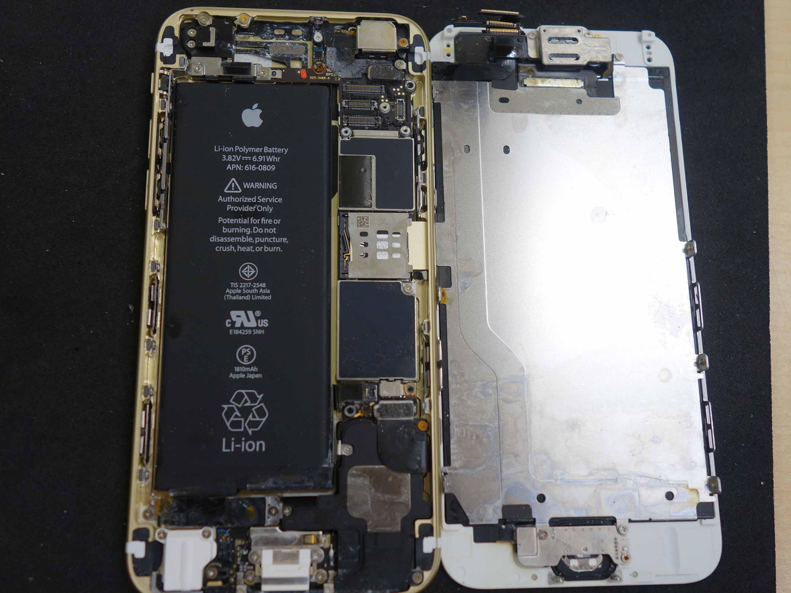 東海市 海で水没 iPhone6の水没データ復旧修理にご来店!アイフォン修理のクイック名古屋