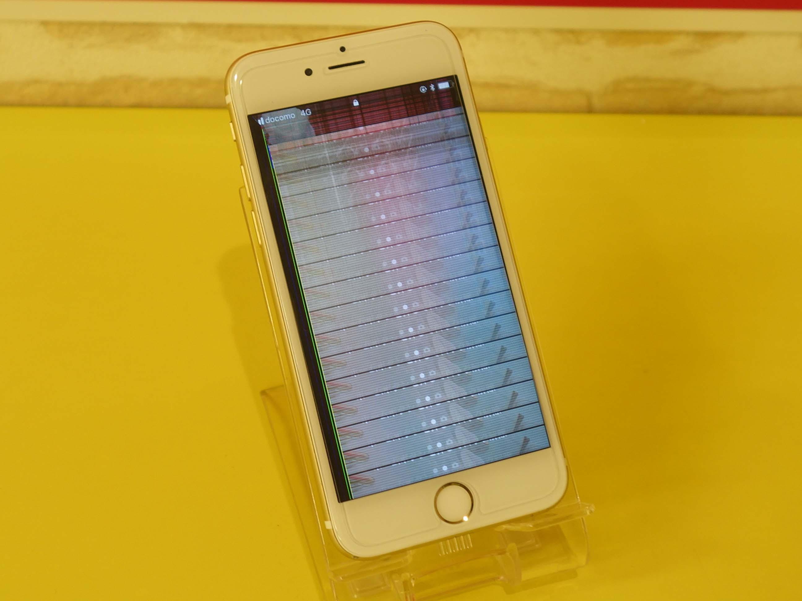 名古屋市 リピータ様 他店修理のiPhon6S 液晶画面修理 アイフォン修理のクイック名古屋