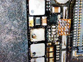 名古屋市 お手洗いで水没 iPhone6 データ復旧の基板修理 アイフォン修理のクイック名古屋