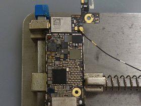 ビールで水没!iPhoneSEの修理に春日井市よりご来店!アイフォン修理のクイック名古屋