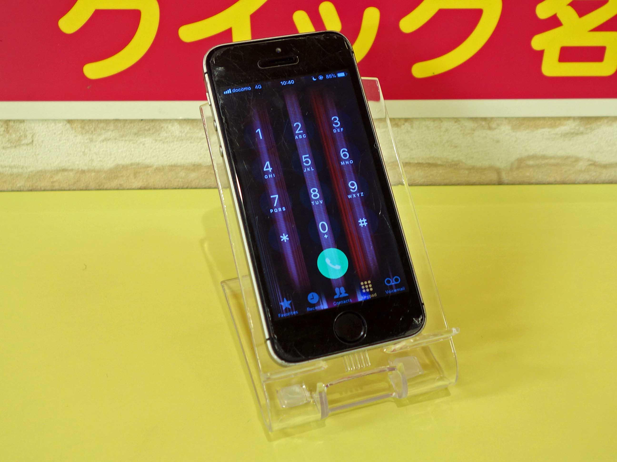 iPhoneSE 水没修理に名古屋市内よりご来店!アイフォン修理のクイック名古屋