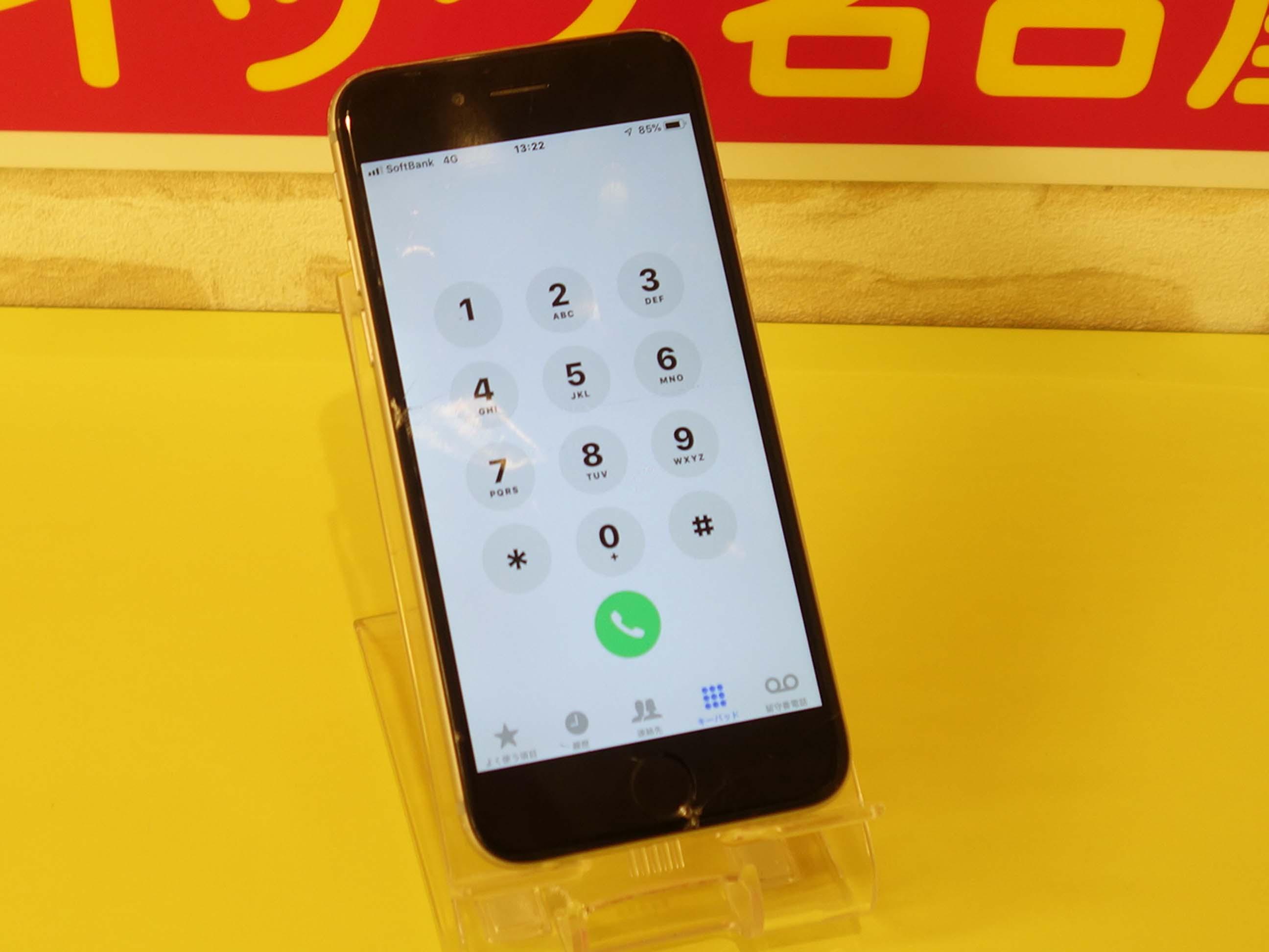 iPhone6のガラス割れ修理に名古屋市内よりご来店!アイフォン修理のクイック名古屋