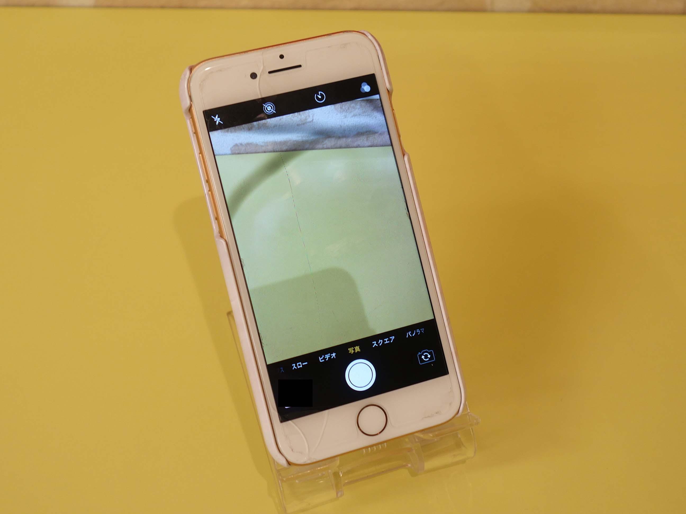 iPhone8のガラスとアウトカメラ交換修理で名古屋市内からご来店!アイフォン修理のクイック名古屋