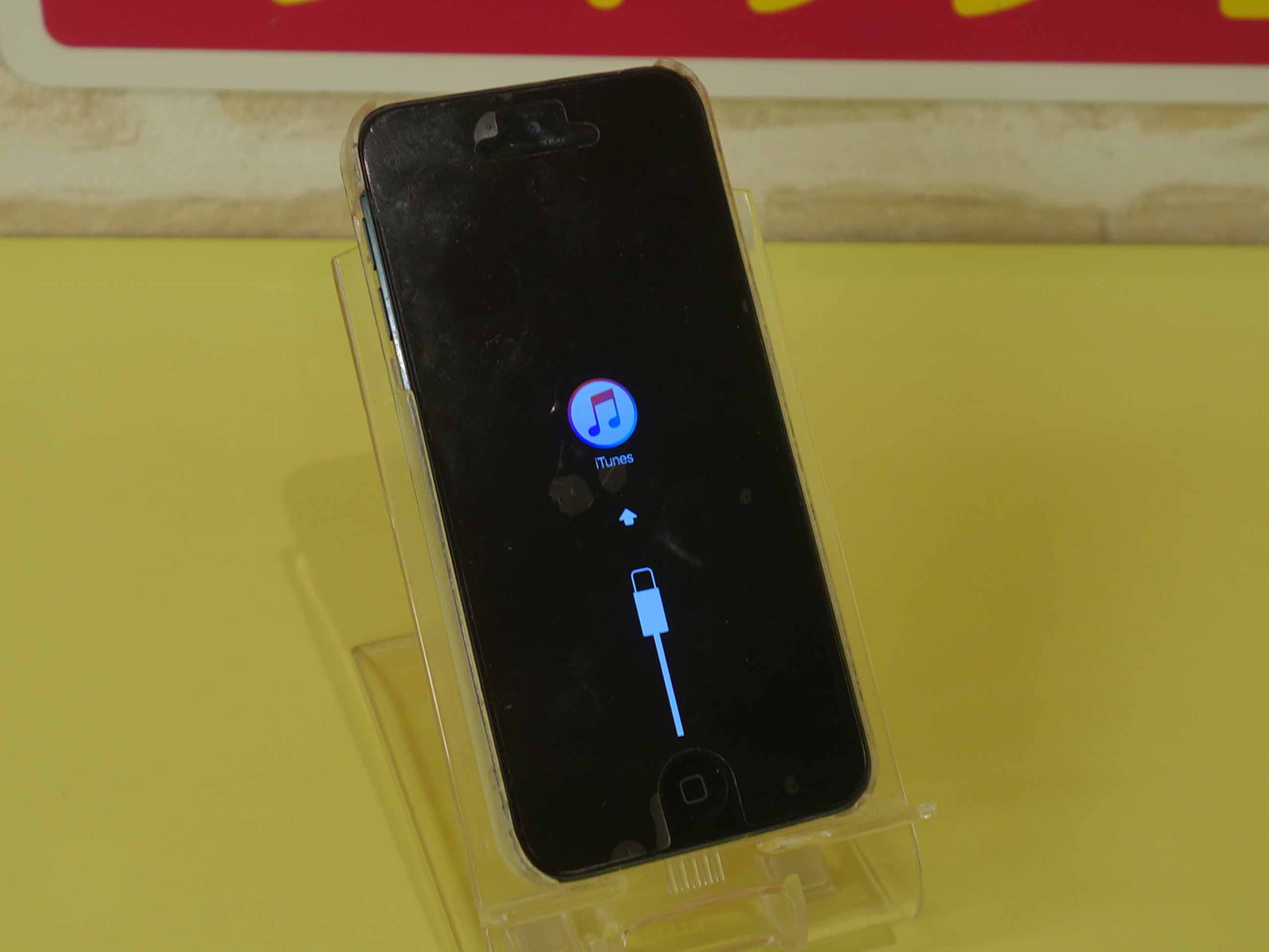 iPodtouch6のリカバリーモード修理に名古屋市内よりご来店!アイポッド修理もクイック名古屋