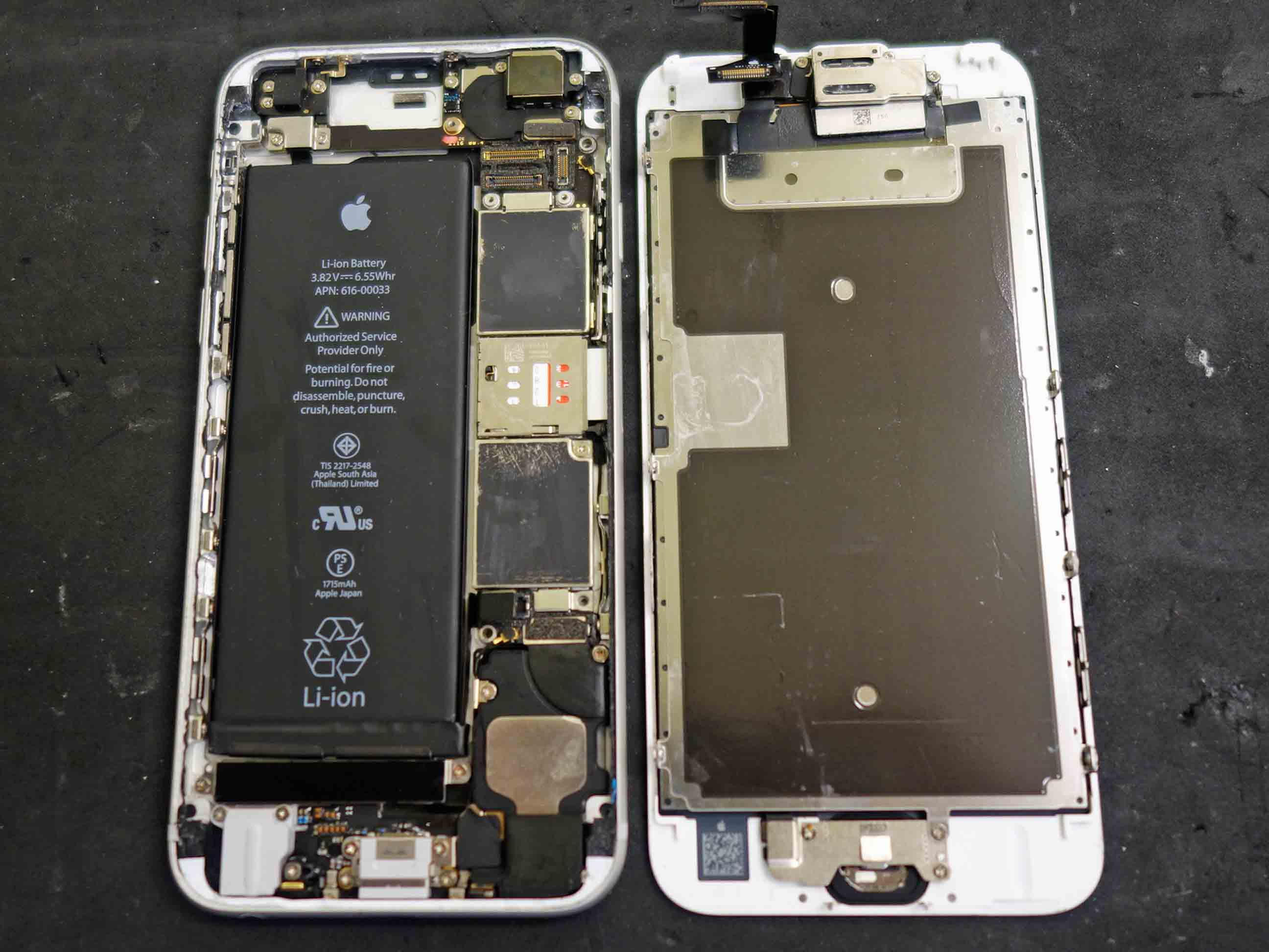 iPhone6Sの水没データ復旧 基盤修理に名古屋市内からご来店!アイフォン修理のクイック名古屋