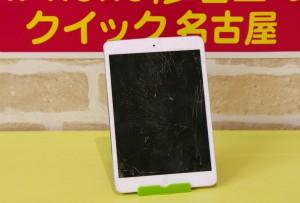 iPad miniのガラス交換と液晶交換修理を行いました~♪アイパッド修理も即日お渡し!クイック名古屋