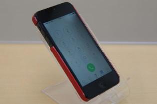 バッテリーが膨張しガラスが浮いたiPhone5の修理に岡崎市よりご来店〜♪アイフォン修理のクイック名古屋