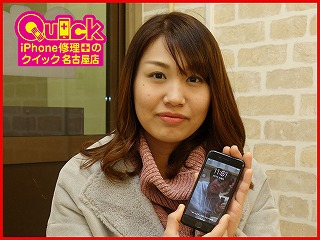 ☆ガラスがバキバキに割れたiPhone7(通称バリフォン)の修理に中村区よりご来店!アイフォン修理のクイック名古屋