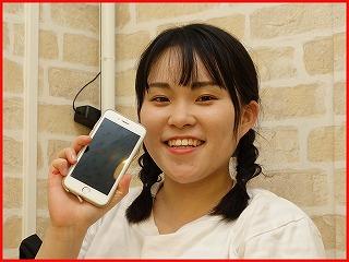 ☆落としてガラスの割れたiPhone6Sの修理に犬山市よりご来店!アイフォン修理のクイック名古屋