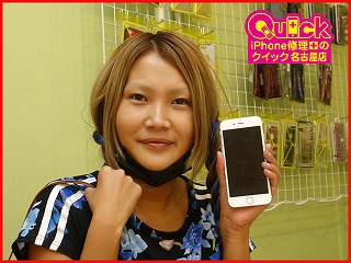 ☆電池の減りがはやいiPhone6の修理に中区よりご来店!アイフォン修理のクイック名古屋