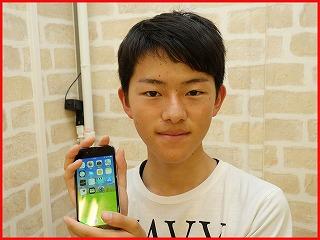 ☆落として割れたiPhone6Sの修理に岡崎市よりご来店!アイフォン修理のクイック名古屋
