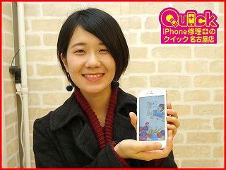 ☆iPhone6Sのリンゴマークの水没復旧修理に美浜町よりご来店!アイフォン修理のクイック名古屋
