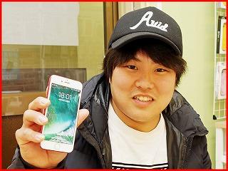 ☆iPhone7の液晶交換修理に名古屋市内よりご来店!アイフォン修理のクイック名古屋