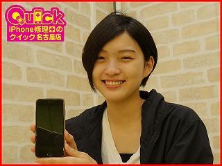 ☆春日井市よりiPhone6の画面修理にご来店~♪アイフォン修理のクイック名古屋