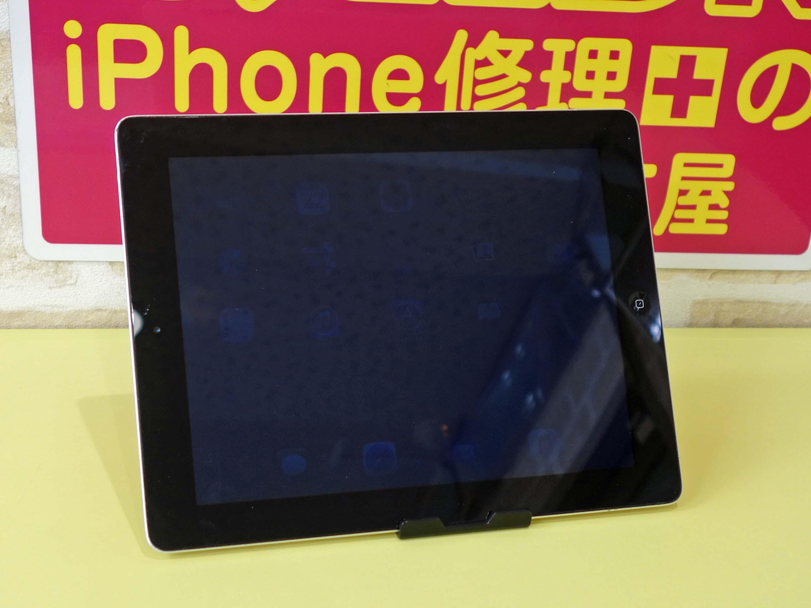 iPad2の液晶交換修理で名古屋市内からご来店!アイパッド修理もクイック名古屋