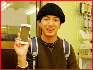 iPhone8のアウトカメラ交換修理に清須市よりご来店!アイフォン修理のクイック名古屋