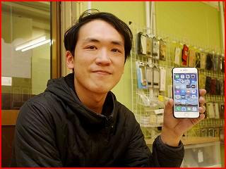 ☆iPhone7のバッテリー交換修理で名古屋市からご来店!アイフォン修理のクイック名古屋