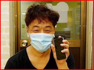 ☆iPodtouch5のホームボタン陥没修理に名古屋市内よりご来店!アイポッド修理のクイック名古屋