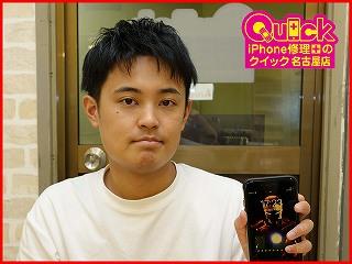 ☆iPhone7 Plusのバッテリー交換修理で一宮市からご来店!アイフォン修理のクイック名古屋