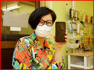 ☆iPhone7Plusのガラス交換修理にあま市よりご来店!アイフォン修理のクイック名古屋