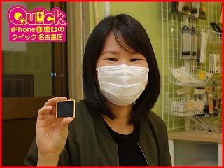☆iPodnano6のガラス&バッテリー交換修理に名古屋市内よりご来店!アイポッド修理のクイック名古屋