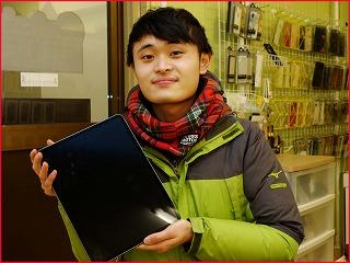 ☆iPad12.9の3世代のガラス交換修理に名古屋市内よりご来店!アイパッド修理もクイック名古屋